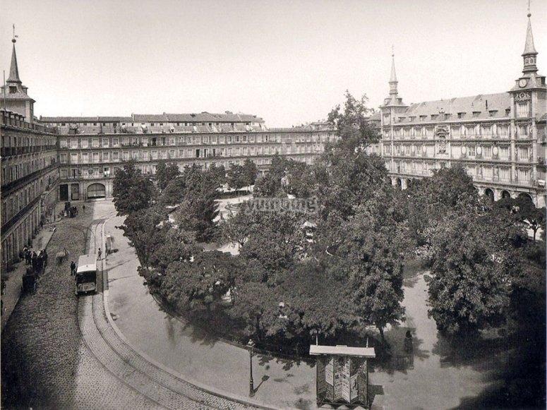La Plaza Mayor de Galdós