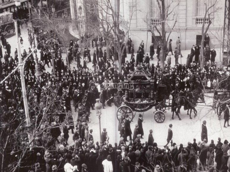 Funeral de Benito Pérez Galdós