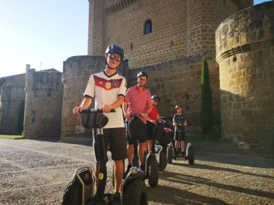 Segway route with guide through Sajazarra 90 min