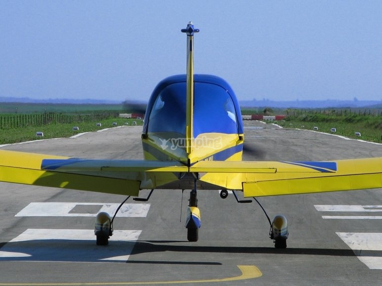 从维拉卡斯汀起飞的飞机