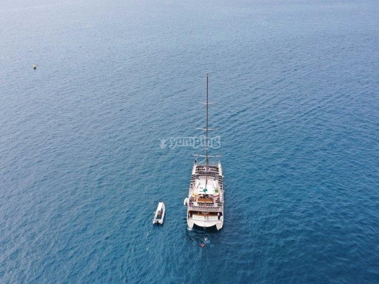 Navegando en la inmensidad del Atlántico