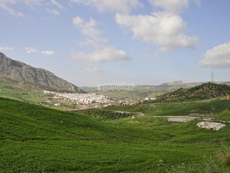 El paisaje del Valle de Abdalajis, imagen que disfrutaremos en persona y compartiremos en grupo