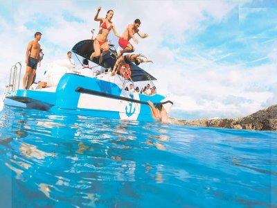 Ruta en barco para niños en Mallorca Fornells 3 h