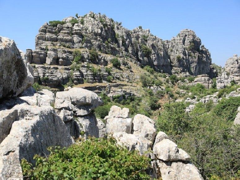 Desde el mirador el guía os hablará de aspectos relativos al relieve montañoso