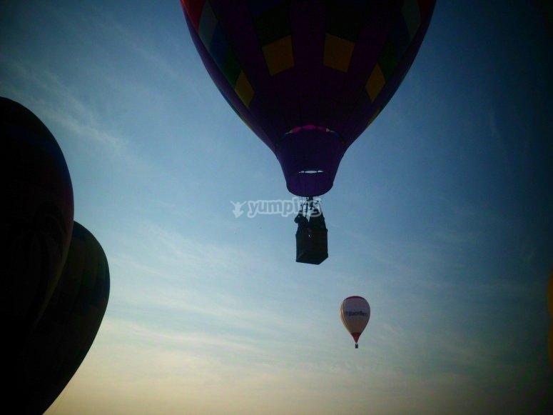 乘坐气球穿越托莱多