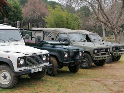 Ruta safari 4x4 por Villarrubia de los Ojos 2h