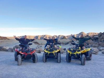 Tour en quad Parque Nacional del Teide 3 horas