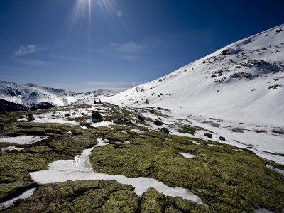 Ruta con raquetas de nieve Círculo de Peñalara