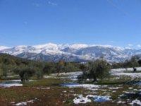 Las primeras nieves en el valle