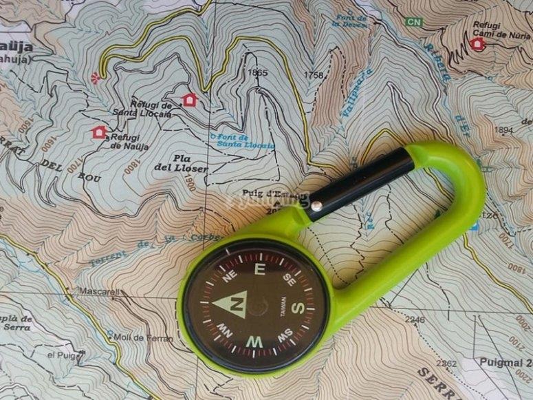 知道并知道如何使用指南针对自己定位至关重要