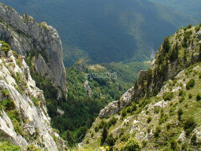 Natural landscape of Berguedá