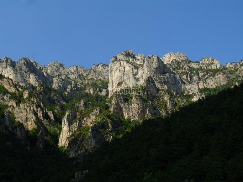 Panoramic of Berguedá