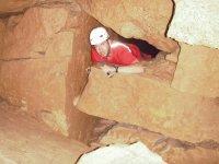 Caving in Bofia de Boixadera cave