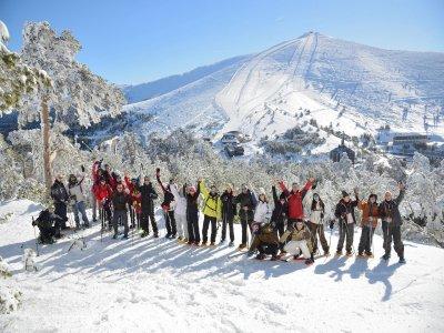 Ruta con raquetas de nieve Siete Picos 4h