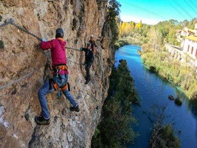 Ventano del Diablo 中级铁索攀岩 3小时