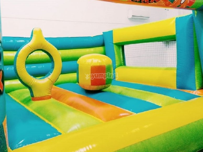 Bouncy castle for the little ones