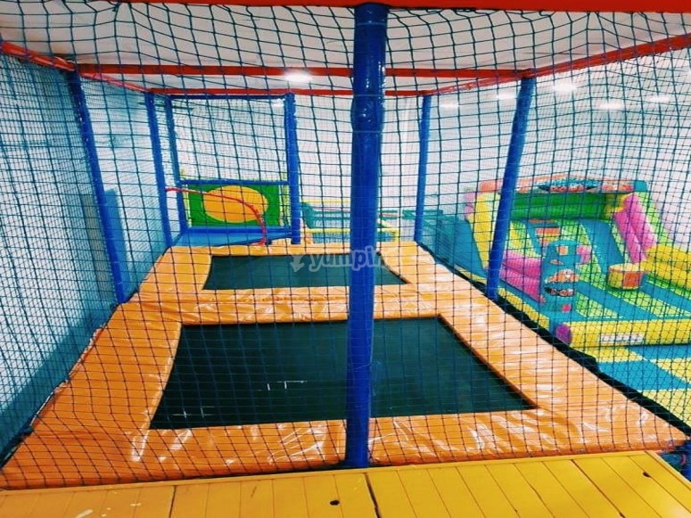 Trampolines for games