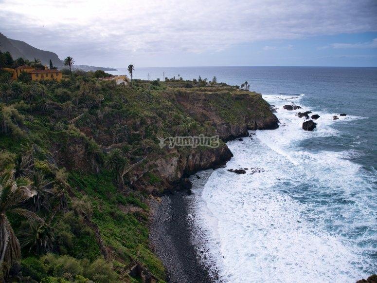 Cycle through Tenerife