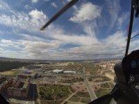 Aeropuerto de Cuatro Vientos desde el helicoptero