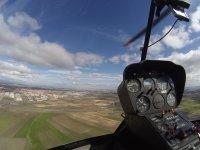 Vuelo visual desde el helicoptero