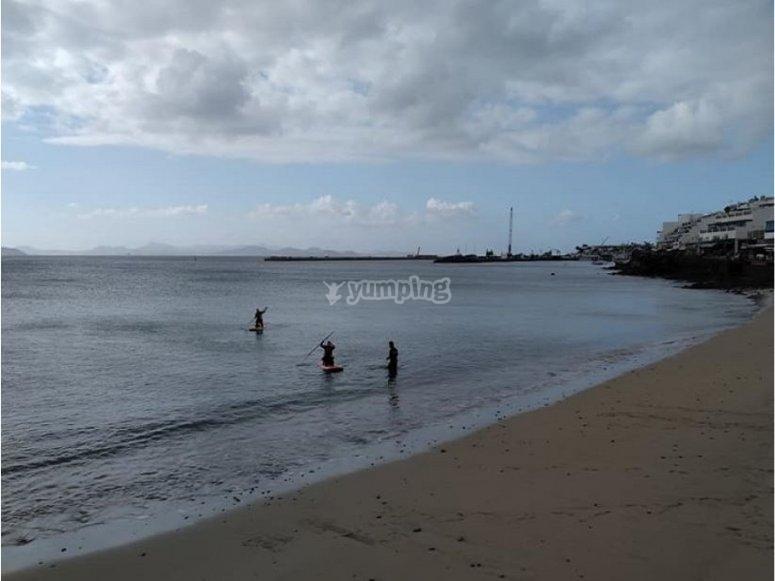 Paddle surf en Lanzarote