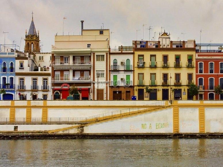 El río Guadalquivir limita esta zona tan querida por todos los flamencos