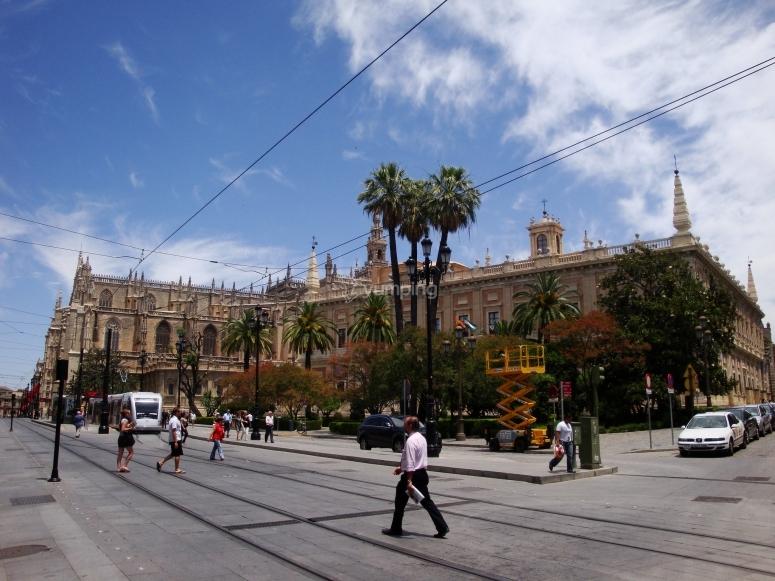 Tour guiado en Sevilla con bicicleta