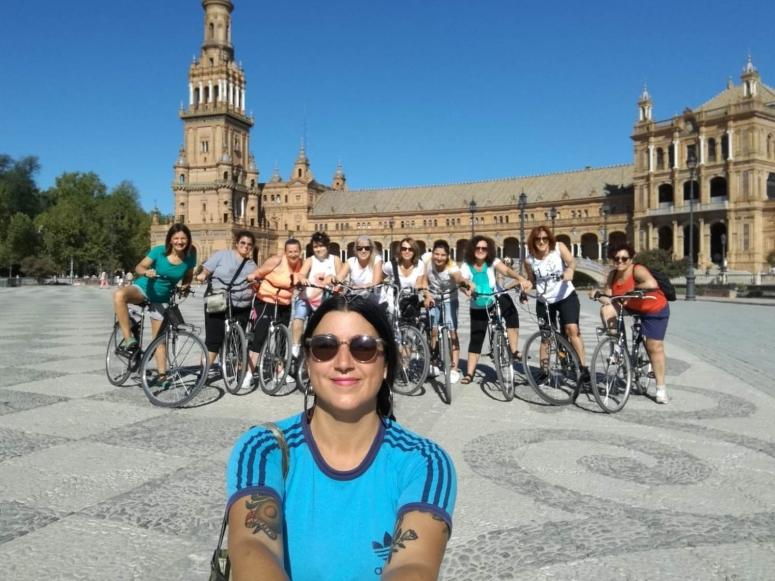 Paseo en bicicleta por Sevilla