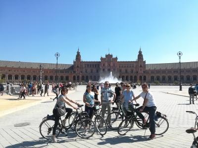 Tour en bicicleta por Sevilla 2 horas y 30 minutos