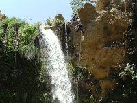 Cascade of a ravine