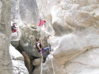 rappelling canyons