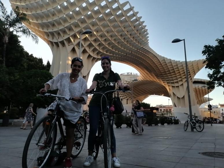 Veremos las famosas setas de Sevilla