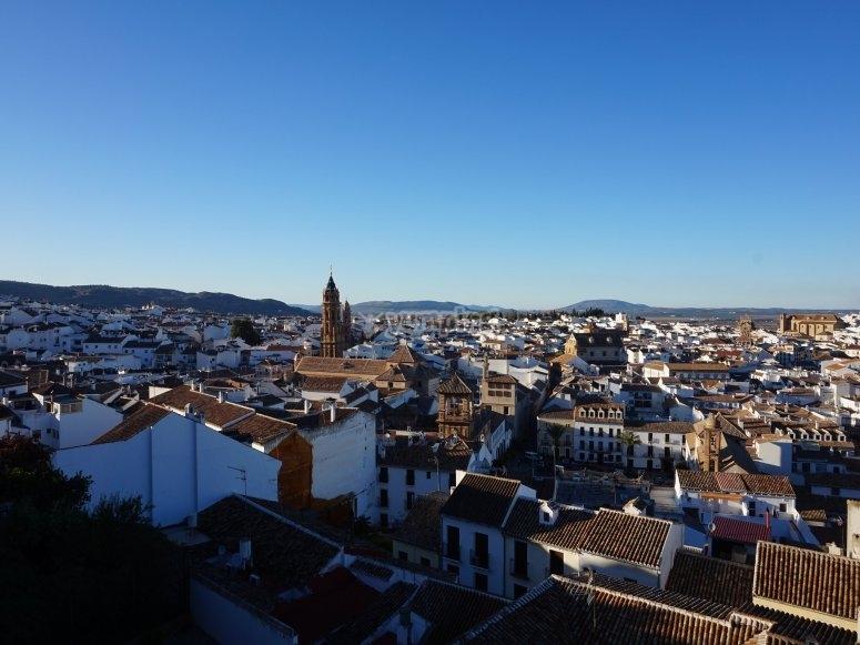 Visita del centro di Antequera in mongolfiera