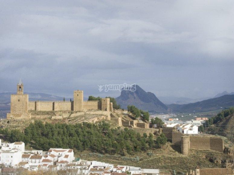 Attraversamento in mongolfiera attraverso Antequera