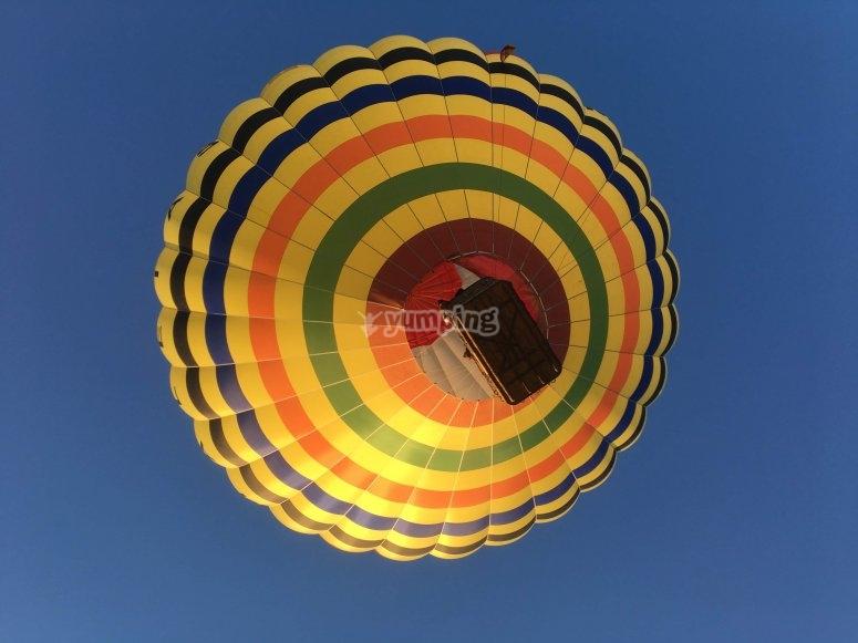 安特克拉的热气球体验