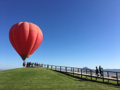 Balloon flight and country brunch Antequera