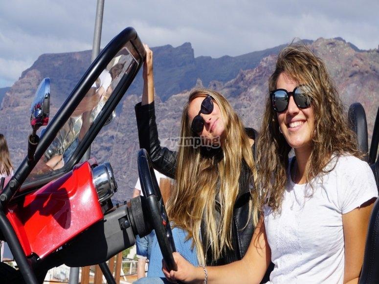 Ruta en buggy para dos por el Teide