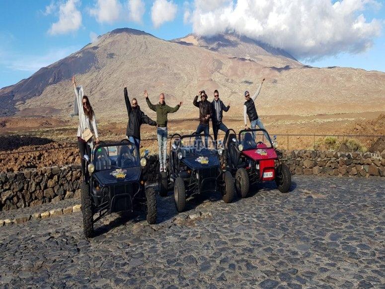 Excursión en buggy por el Teide