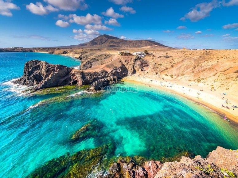 La playa de Papagayo es una de las mejores playas de Lanzarote