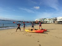 Tour en kayak por Playa Blanca 2 horas