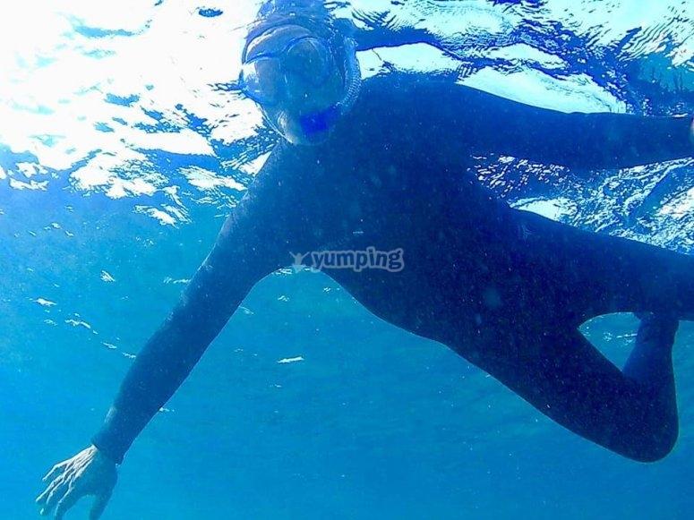 Snorkel en Lanzarote