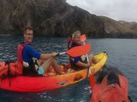 Tour en kayak por playa Blanca
