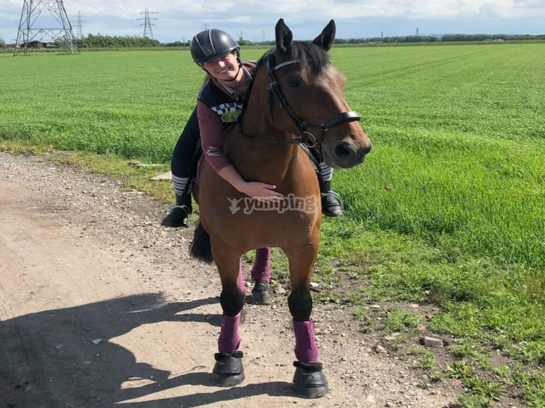 Orrius学习骑马