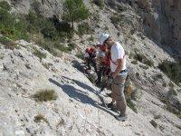 Ferrata in the mountain