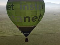 空中热气球美景