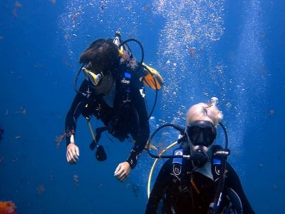 Double dive advanced immersion in Las Palmas