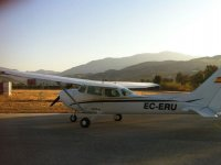 The aerodrome is located near the town of Trebujena The one we will leave.