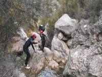 Water canyoning exit