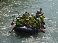 un dia de rafting