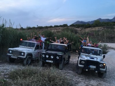 4x4 route Benidorm at night 6 hours